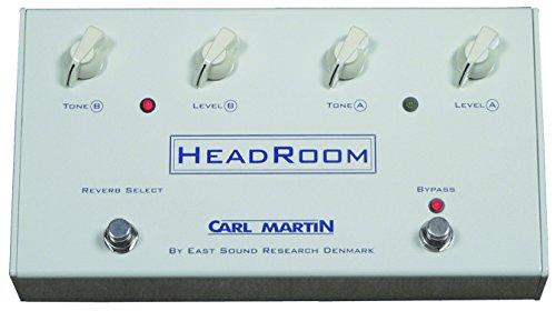 Carl Martin CM-HR Headroom - Pedal de reverberación para guitarra eléctrica