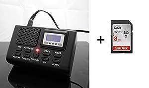 ENREGISTREUR DE COMMUNICATION + SDHC 8GB incluse