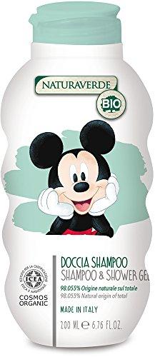 Naturaverde Bio Kids–Dusche Shampoo Mickey Mouse