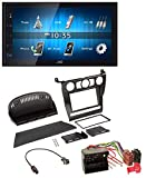 caraudio24 JVC KW-M24BT 2DIN Bluetooth MP3 AUX USB Autoradio für BMW 5er (E60 2003-2007)
