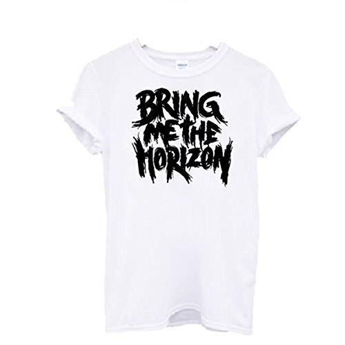 Unisex T-Shirt, Motiv: Bring ME The Horizon 'Musik-Rock-Band-Tattoos Oliver Sykes-Festival