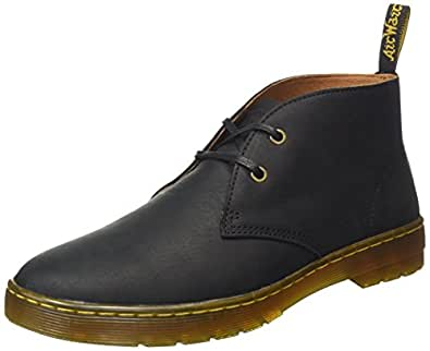 Dr. Martens Men's Cabrillo Desert Boots, (Black Wyoming 001), 6 UK (39 EU)