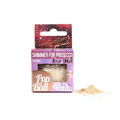 Popaball Rose Gold Shimmer for Prosecco
