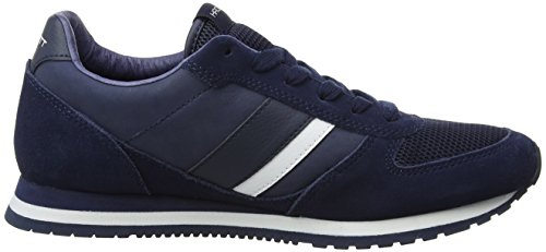 Hackett London Pembrook, Chaussures de Running Homme Multicolore (Navy/white)