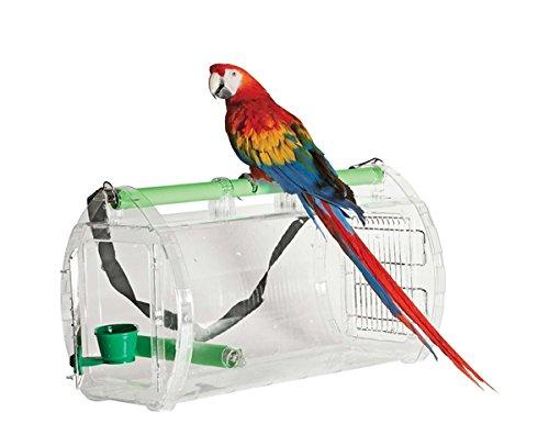 Transportbox aus Acryl für Papageien XXL - Travel Cage