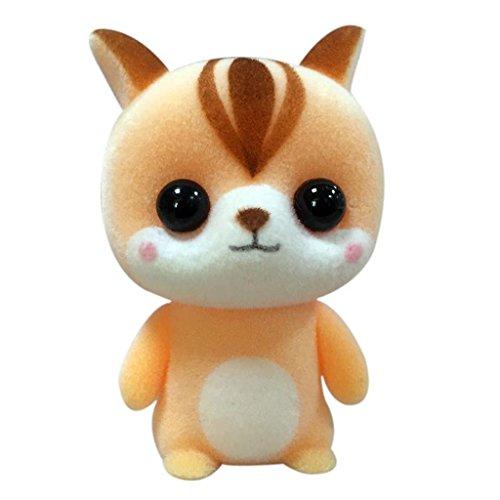 Lamdoo Schöne Eichhörnchen Plüsch Puppe Spielzeug Stofftier Beflockung Kinder Baby Kinder Geschenke