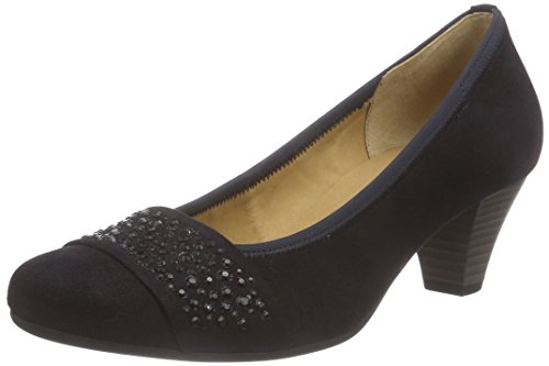 Gabor Shoes 35.482  Damen Pumps Blau (pazifik (+Steine) 16)