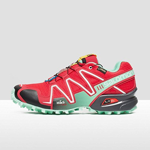 Salomon - Speedcross 3 Gtx - , homme, multicolore (dark khaki/black/gr), taille Rot