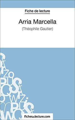 Arria Marcella de Théophile Gautier (Fiche de lecture): Analyse complète de l'oeuvre