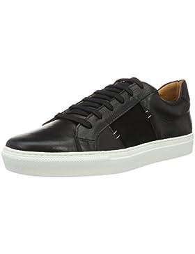 neoneo Herren Low-Top Echt Leder Sneaker
