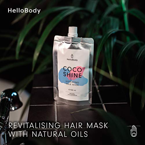 Zoom IMG-1 hellobody coco shine maschera per