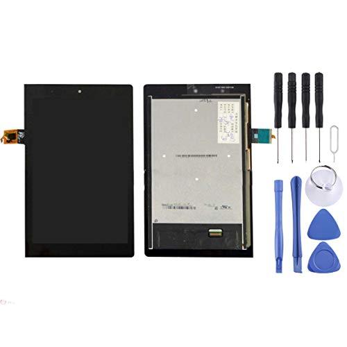 Yiki Neuer LCD-Bildschirm und Digitizer Full Assembly for Lenovo Yoga Tablet 2 / 830L (Schwarz) (Farbe : Black)