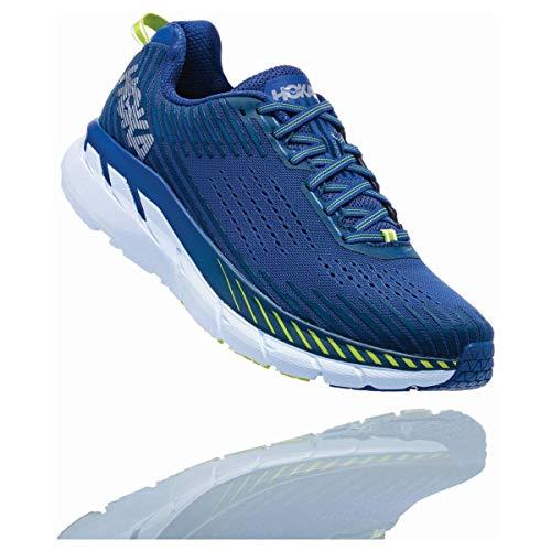 HOKA Clifton 5, Scarpe Running Uomo, Blu (SodaliteBlue/MoodIndigo), 44 EU