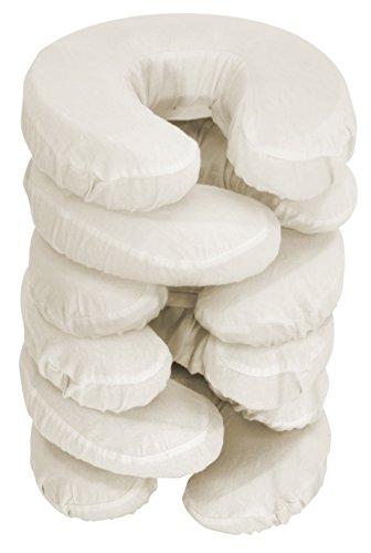 Master Massage Kopfbezüge waschbar 100% baumwolle für Massageliege Kopfpolster Kopfstütze Nackenkissen 6 Pack, Beige