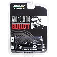 Greenlight 1/64 Scale Diecast 44741 - Steve McQueen 1968 Dodge Charger Bullitt