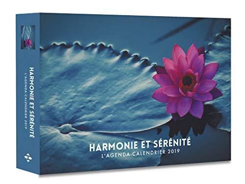 L'agenda-calendrier Harmonie et sérénité 2019
