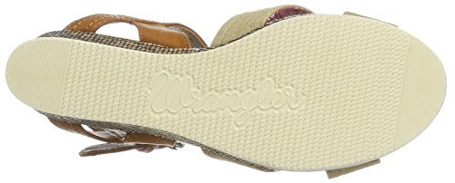 Open Wrangler Indaco Croce Donna Taupe Sandali Toe Jeena ppqIH