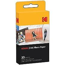 Kodak ZINK Photo Paper 20pieza(s) 50 x 76mm película instantáneas - Película fotográfica instantánea (20 pieza(s))