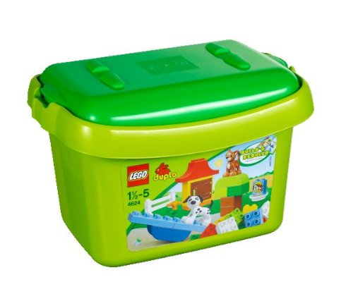 LEGO-DUPLO-4624-Green-Brick-Box