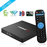T95Z MAX Android 7.1 TV Box 2GB RAM/16GB ROM Amlogic S912 Octa Core Dual WiFi 1000M LAN Ethernet 64-Bit H.265 Bluetooth 4.0 DLNA UHD 4K Mini PC TV Box