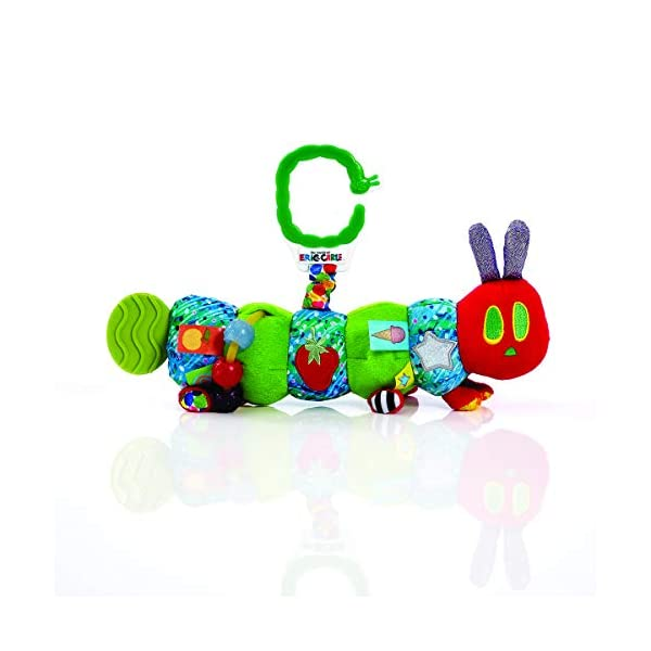 The World of Eric Carle , the Very Hungry Caterpillar  Developmental Caterpillar,by Rainbow Designs 1