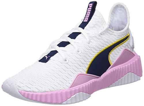 Puma Damen Defy WN's Fitnessschuhe, Weiß White-Pale Pink, 38 EU