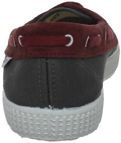 Victoria Nautico Lona Serraje, Chaussures à lacets mixte adulte Gris (Anthrac-Burd)