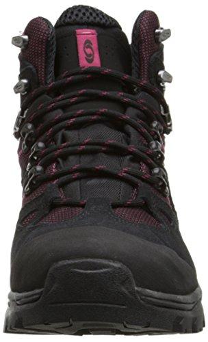 SalomonDiscovery GTX - Scarpe da trekking e da passeggiata Donna Nero (Bord/Negro/Carmine)