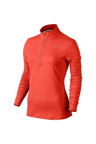 Nike - Element Half Zip - Top à manches longues - Femme Orange (max orange)