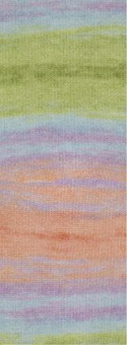 Lana Grossa Silkhair Print 345 / 50g Wolle