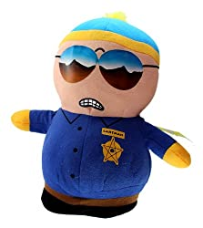 10in Officer Cartman Plush South Park Stuffed Toys