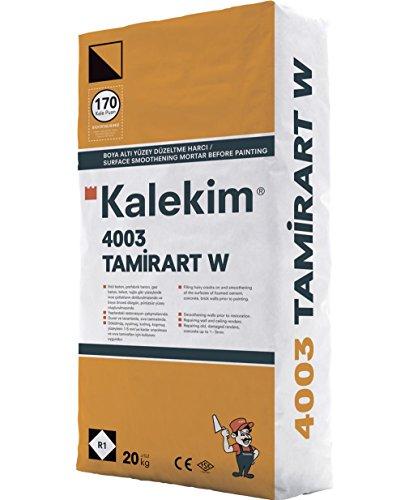 'TamirArt W' Vergüteter Ausgleichs- und Reparaturspachtel, Betonspachtel Weiß 20 kg