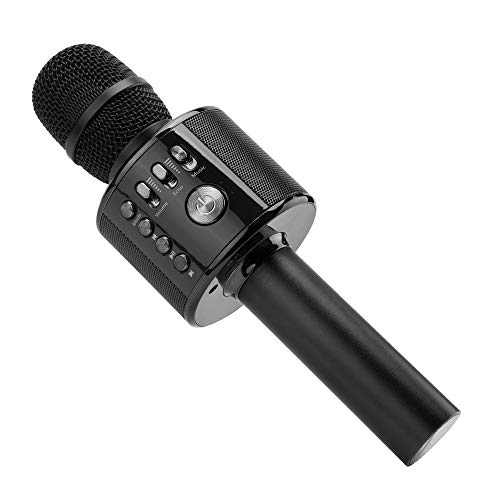 aoke Mikrofon, Portable Handmikrofon Lautsprecher Player Mikrofon - Stereo Player für Musik spielen KTV, Party, als Lautsprecher für PC, iPhone, iPad und Android/IOS Smartphone ()