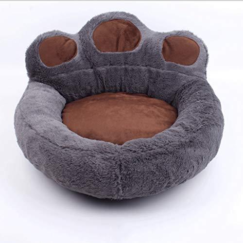 Pet Lounge Hundebett, abnehmbarer und waschbarer Deckel mit YKK Zipper Bed Cat und Hund (Color : Dark gray, Size : L) -