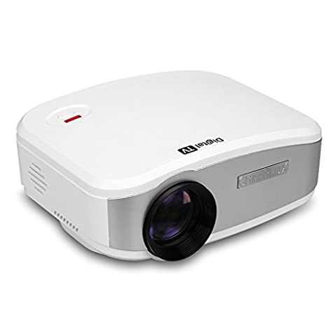 CHEERLUX Home Theater Projector 1200 Lumens Mini LED Portable Projector for Home Theater Cinema, TV, Football Games, Parties and Video Games Entertainment