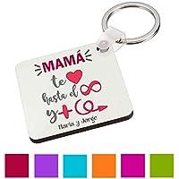 Llavero Madre/Texto Personalizado/Regalo Original Mama/Cumpleaños/Dia de la Madre/Aniversario/Navidad
