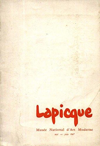 Lapicque : Musee national d'art moderne, Mai-Juin 1967