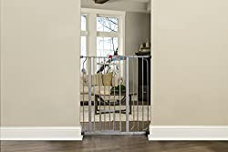 Carlson Pet Products Platinum Gate With Pet Door, Extra Tall