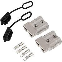 Conector de batería 50A (2 Unids) Coche Batería de Conexión Rápida Powerpole Conectores de Alimentación Modulares Déconnexion Rápido