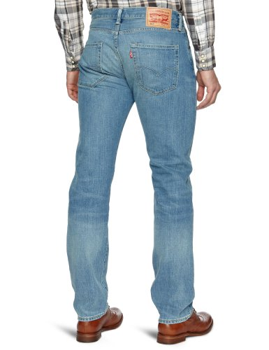 Levi's Herren Jeanshose 501 Original Straight Blau (Broken Blues STF 1537)