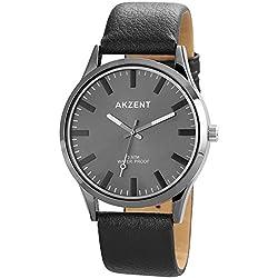 Akzent Herren-Armbanduhr XL Analog Quarz verschiedene Materialien SS7771500022