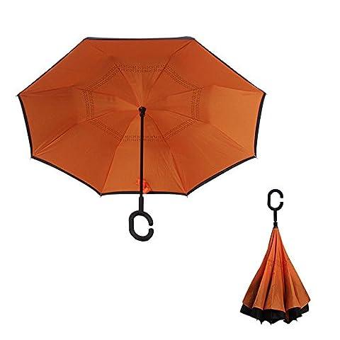 TJ Shade droit pôle double inversée parapluie ,
