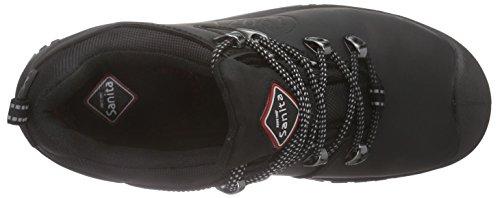 Sanita Unisex-Erwachsene San-Safe Amazon Lace Shoe Sicherheitsschuhe Schwarz (Black 2)