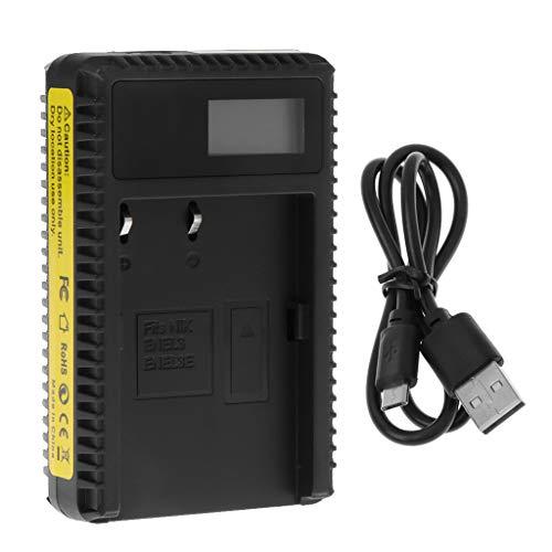 Nankod Akku-Ladegerät EN-EL3E Mit USB-Kabel Portable LCD-Display Single SlotFür NikonD50 / D70 / D70s / D80 / D90 / D100 / D200 / D300 / D300s / D700. - D200 Lcd