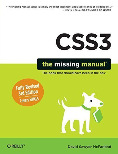 CSS3: The Missing Manual 3rd edition by McFarland, David Sawyer (2013) Paperback