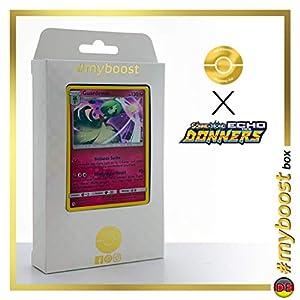 Guardevoir 141/214 Holo - #myboost X Sonne & Mond 8 Echo Des Donners - Box de 10 Cartas Pokémon Alemán