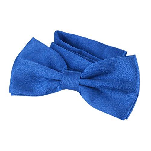 DonDon Nœud papillon avec crochet - déjà lié et réglable Bleu I