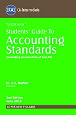 Students' Guide to Accounting Standards (Including introduction of Ind AS) (CA-Intermediate) (As Per New Syllabus)
