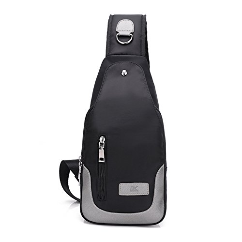 pack poitrine coréenne/Messenger Bag Student/Multi-compartiment sac à bandoulière en toile-C A