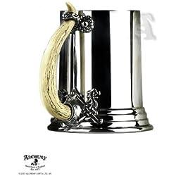 Alchemy Gothic (Metal-Wear) Cuerno Vikingo Peltre Jarra